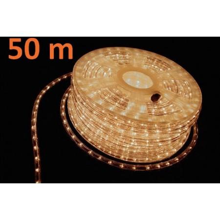 Venkovní osvětlení- kabel, bílý, 50 m