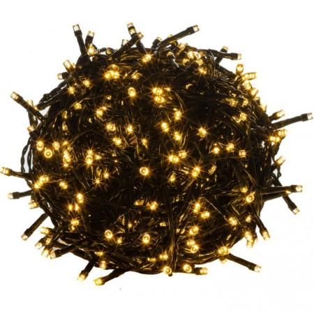 LED řetěz na vánoční stromeček venkovní / vnitřní, teple bílý, 20 m