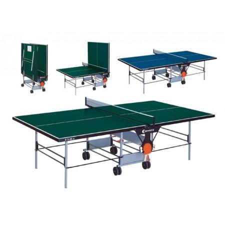 Skládací pingpongový stůl venkovní, zelený