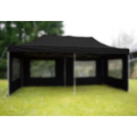 Střecha pro zahradní stany a altány 3x6 m, černá