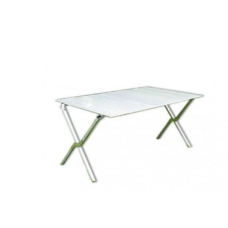 Kempinkový skládací stůl obdélníkový, hliník, vč. tašky