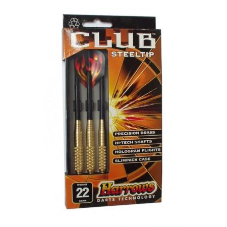 3 ks šipky s kovovými hroty 20 g, steel club