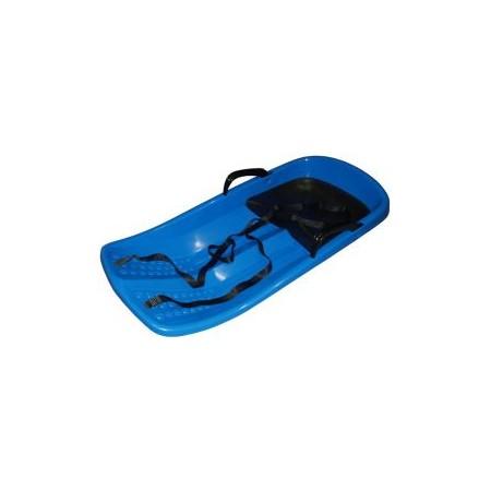 Plastové boby se sedátkem a brzdami, modré