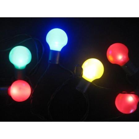 LED osvětlení venkovní / vnořtní barevné, 20 LED
