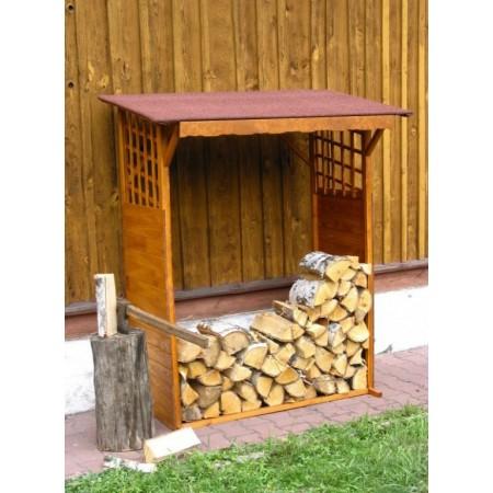 Venkovní přístřešek na dřevo- dřevník