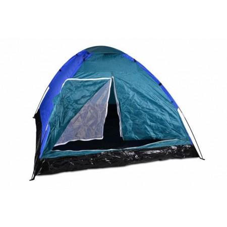 Lehký stan iglů, síťka proti komárům, modrá / černá