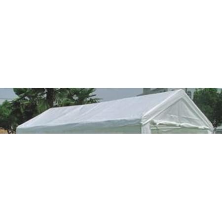 Náhradní střecha k zahradnímu párty stanu 4x6 m, bílá