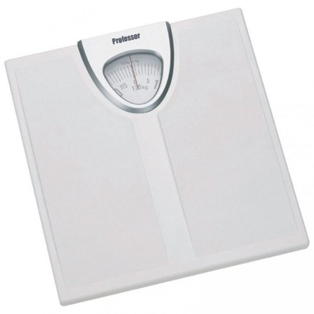 Osobní váha mechanická, nosnost 120 kg, bílá
