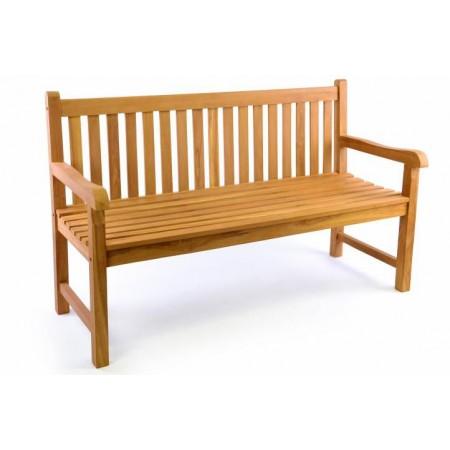 Zahradní lavice pro 3 osoby, 150 cm, teakové dřevo