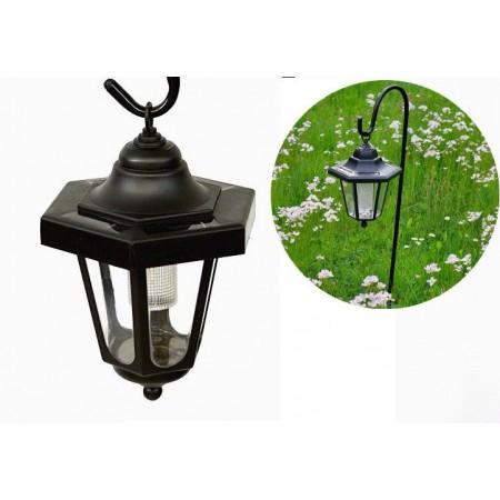Zahradní solární osvětlení- lucerna se stojanem