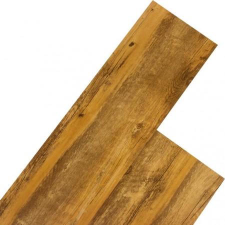 Vinylová plovoucí podlaha, dřevodekor - kafrové dřevo klasik, 5,07 m2