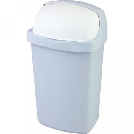 Velký plastový odpadkový koš 50 l, luna