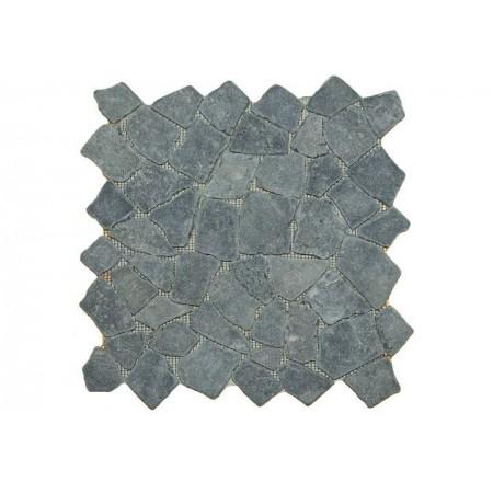 Obklad / dlažba- mozaika andezit černá / šedá, 1 m2