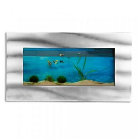 Designové nástěnné akvárium s příslušenstvím, 590 x  325 x  110 mm
