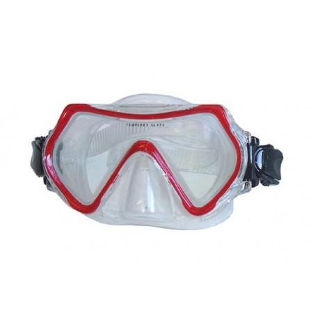 Potápěčské brýle- siliter, junior, červené
