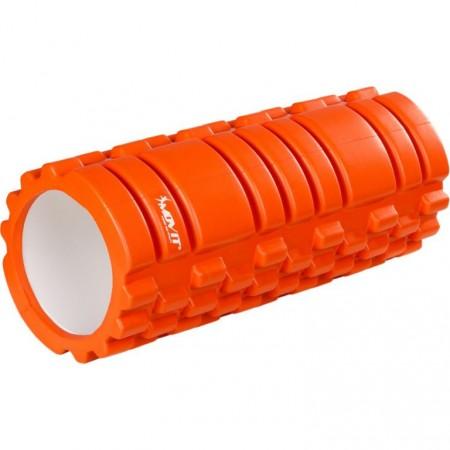 Masážní válec pro posilování a cvičení, 33 cm x 14 cm, oranžový