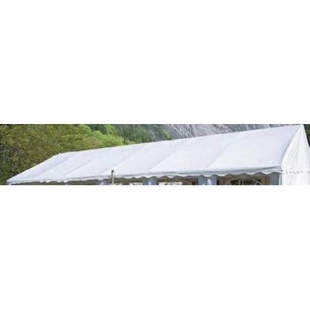 Samostatná sřecha k párty stanu 4x6 m, bílá