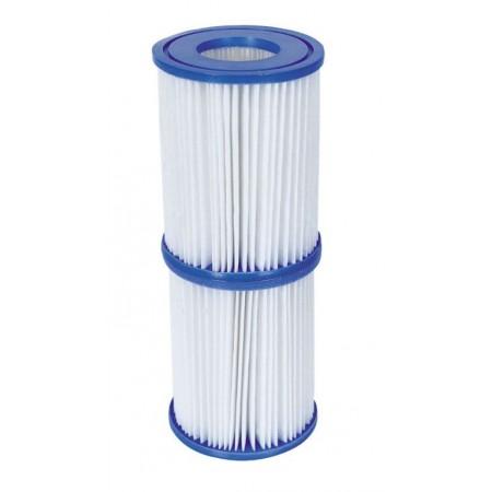 2 ks náhradní filtr do kartušové filtrace, 13,5x10,6 cm