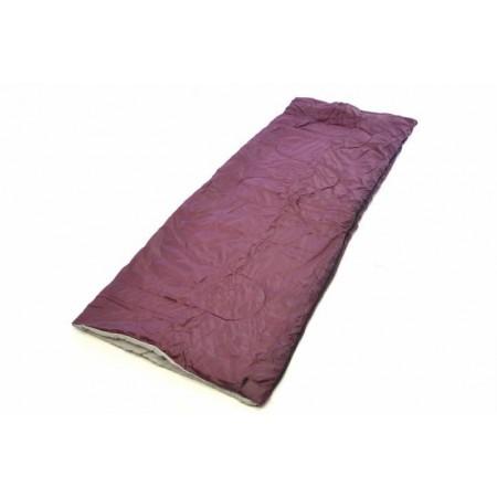 Lehký letní spací pytel, polyester / polyester, 150 g / m², vínový