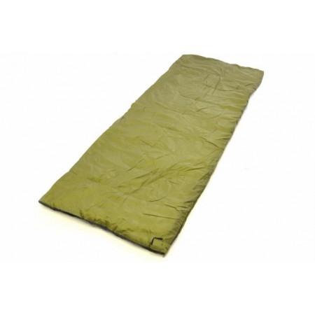 Lehký letní spací pytel, polyester / polyester, 150 g / m², olivový