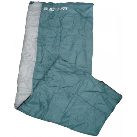Spací pytel dekový, tafatta / duté vlákno 150 g/m2, zelený