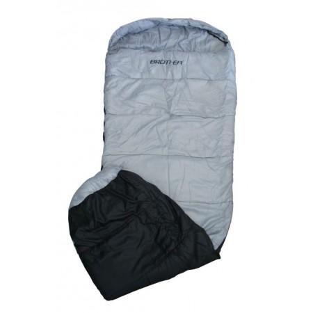 Mumiový spací pytel, taffata / duté vlákno 300 g/m2, šedý