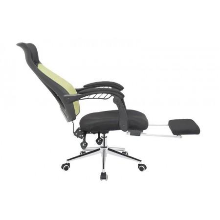 Designová kancelářská židle na kolečkách, sklopné opěradlo