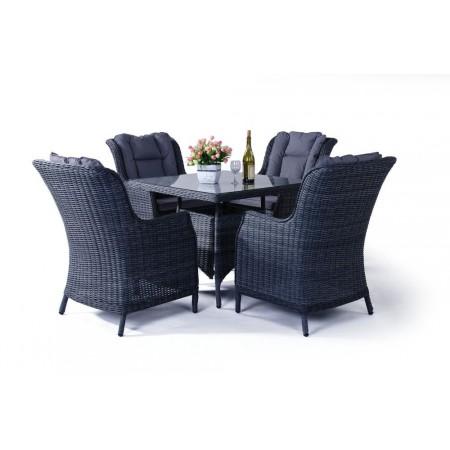 Set luxusního polyratanového nábytku, vč. polstrování