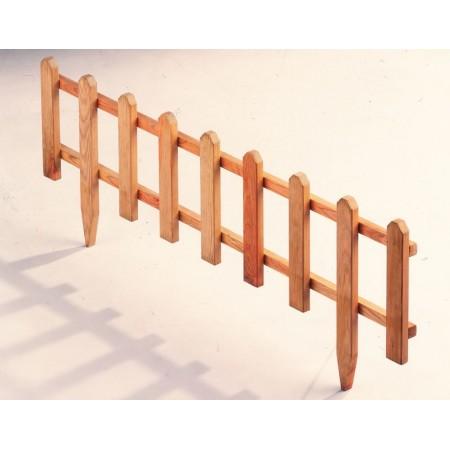 Dřevěný plot- ohraničení záhonu, 1 m