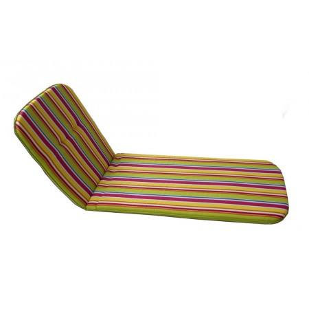 Polstrování na zahradní lehátka, bavlna / polyester, barevné