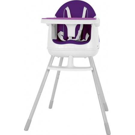 Dětská jídelní sedačka, růžová / fialová