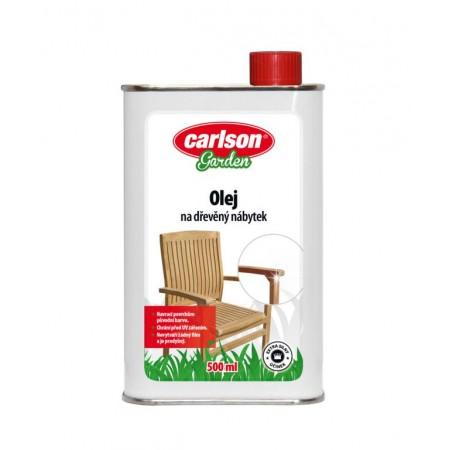 Konzervační olej pro ochranu dřevěného nábytku 0,5 l