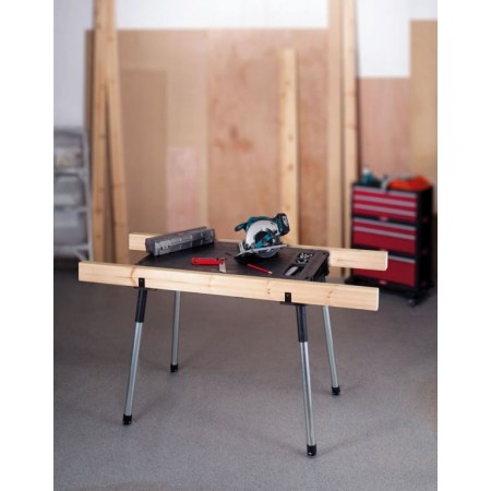 Přenosný pracovní stůl v kufru, nastavitelná výška