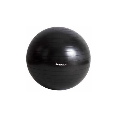 Gymnastický / rehabilitační míč 35 cm, černý, vč. pumpičky