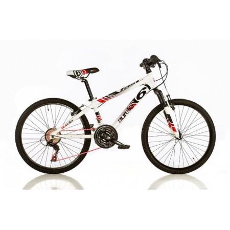 Dětské horské kolo, ráfky 24, bílé