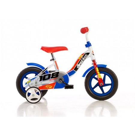 Dětské kolo se stabilizačními kolečky, paprsková kola 10,