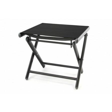 Menší lehká skládací stolička, textilní potah, antracit / černá