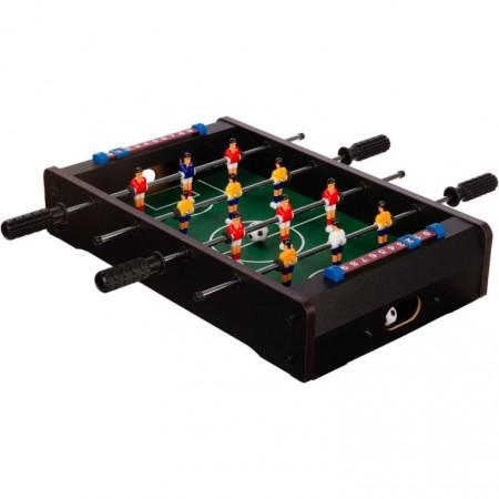 Malý dětský stolní fotbal na stůl, 51x31x8 cm, černý