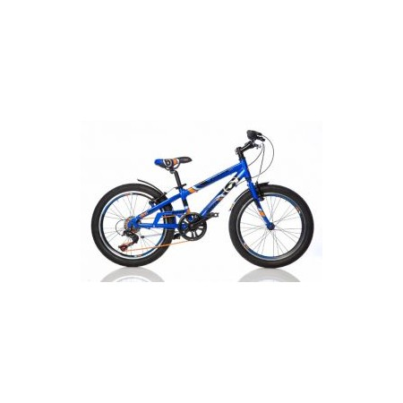 Dětské horské kolo 20, černé pláště, modré