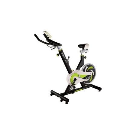 Spinningové kolo, mechanický zátěžový systém, nosnost 110 kg