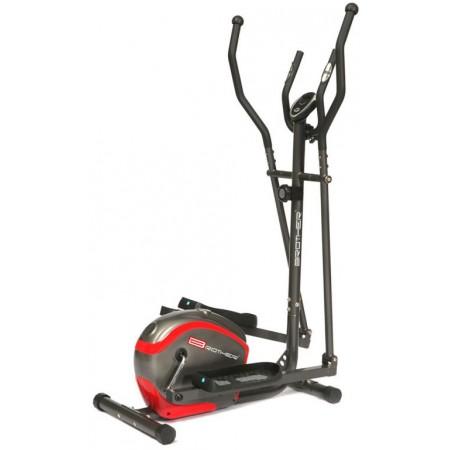 Eliptický trenažer, plynulé nastavení zátěže, nosnost 110 kg