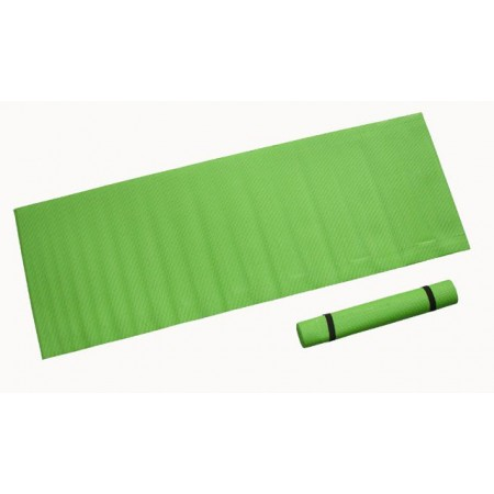 Pěnová podložka na cvičení 173 x 61 x 0,4 cm, zelená
