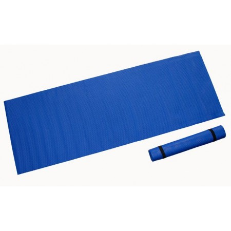 Pěnová podložka na cvičení 173 x 61 x 0,4 cm, modrá