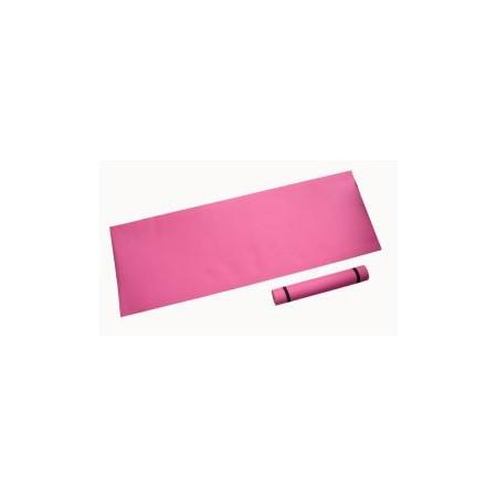 Pěnová podložka na cvičení 173 x 61 x 0,4 cm, růžová