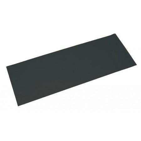 Pěnová podložka na cvičení 173 x 61 x 0,4 cm, černá