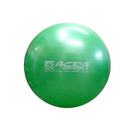 Velký nafukovací míč pro cvičení a rehabilitace 75 cm, zelený