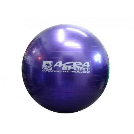 Velký nafukovací míč pro cvičení a rehabilitace 55 cm, modrý