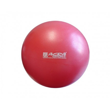 Overball- míč pro rehabilitace a cvičení 30 cm, červený