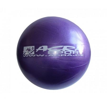 Overball- míč pro rehabilitace a cvičení 26 cm, fialový