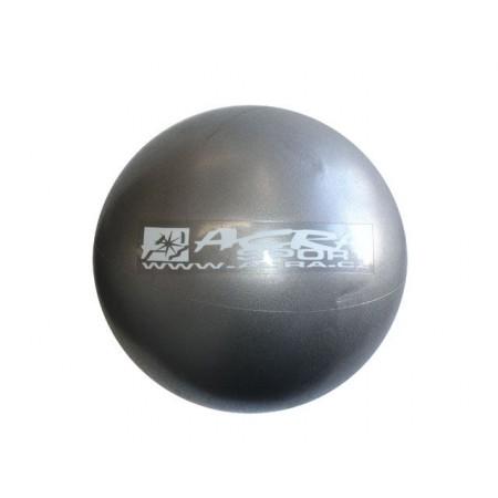 Overball- míč pro rehabilitace a cvičení 26 cm, stříbrný